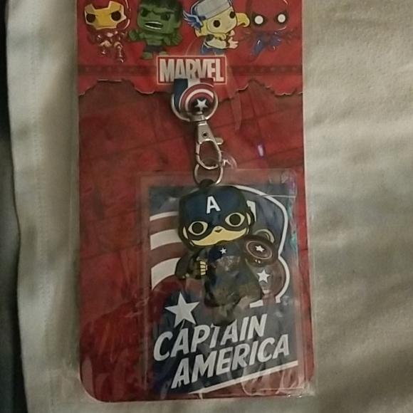 Captain America Badge holder